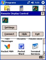 remote pocketpc